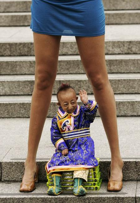 世界上腿最长的人