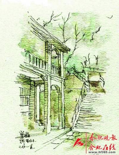 南京大学老师手绘巢湖美景 引大量网友点赞