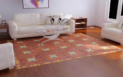 生活家地板东西方艺术的纯美结合