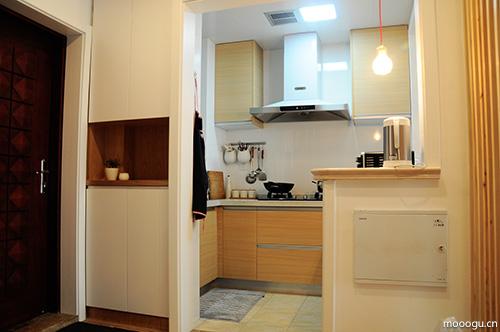 无印良品风复式楼 让家更贴近生活本身