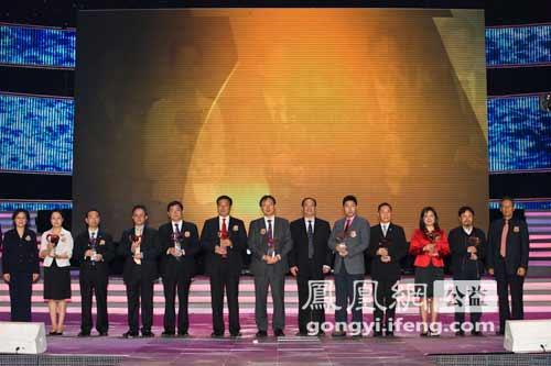 2011中国慈善排行榜:获奖名单