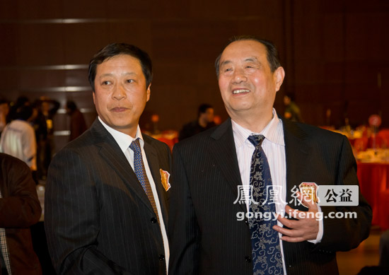 组图:2011中国慈善排行榜与会领导