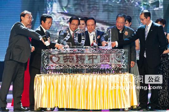 组图:2011中国慈善排行榜现场花絮