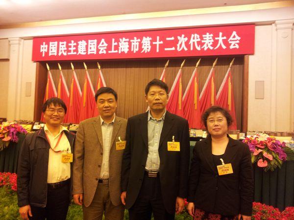 陈宏民同志当选为民建上海市委副主委(图)