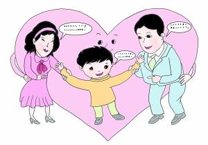 """聊天 父母和孩子的""""精神脐带""""图片"""