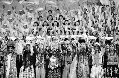 心中的歌儿献给北京人民歌谱