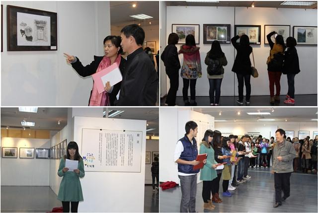 北理工设计与艺术学院金秋写生作品展在良乡艺术馆举行