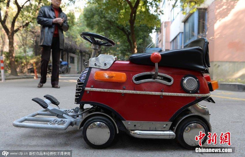 辆超级迷你的小汽车.这辆小汽车长60厘米、宽35厘米、高40厘米,图片