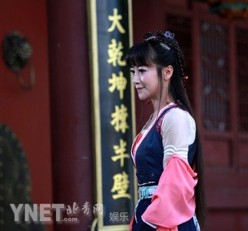 《刘海戏金蟾》目前正在横店火热拍摄,该剧由陈浩民,谭耀文,归亚蕾,陈图片