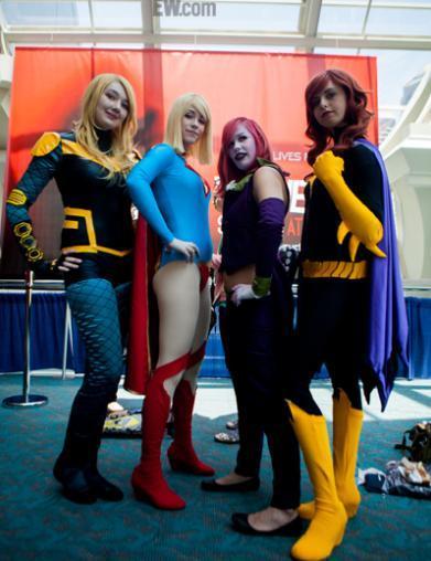 女超人等一众超级英雄的女版