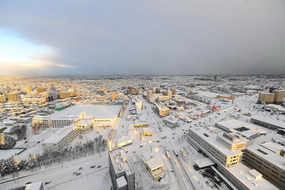 日本北海道冬日美景[高清大图]