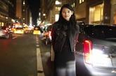 华谊超模纽约街拍 潮流典范穿搭秀