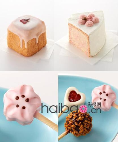 日本星巴克推出2012樱花系列甜点