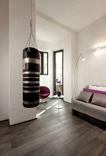 浅灰实木地板清爽墙面打造明亮通透欧式住宅(图)