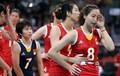 中国女排完败美国 遭首场败仗