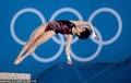 女子10米台 陈若琳胡亚丹晋级半决赛