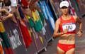 女子20公里竞走 刘虹冲金牌