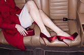 双全新红地毯系列晚装鞋履。