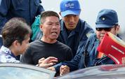 日本粗暴对待被捕保钓人士 - 月  月 - 阳光月月(看新闻 寓娱乐)