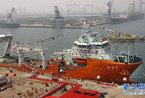中国首艘300米饱和潜水母船交付 排水量15864吨