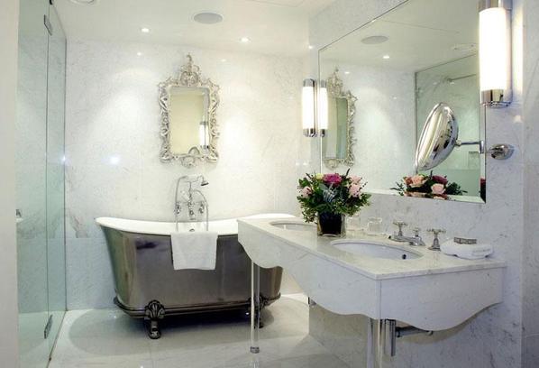 小清新浴室装修效果图 简约浴室装修设计