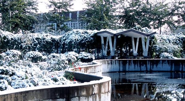 中国政法大学校园风景(组图)
