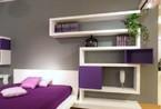 紫色浪漫的睡眠空间   给TA造一个绮丽的梦
