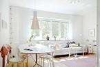 北欧迷人公寓展现惊人细节 体验欧式夏日小清新设计