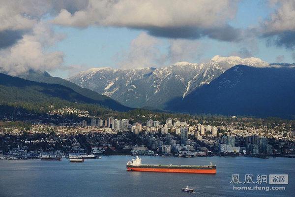温哥华开阔全景公寓 亿元体验煤老板的趣味