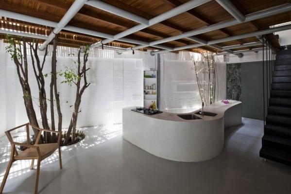 城市中的热带雨林 越南住宅装修散发最自然的光彩