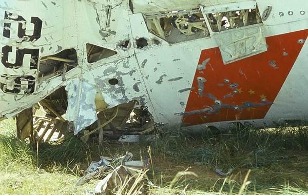 """1971年9月13日林彪乘坐飞机飞往苏联,飞机在蒙古国温都尔汗坠毁,机上人员全部殒命,史称""""九一三""""事件。(来源:凤凰网历史)图为林彪座机256号三叉戟飞机残骸。"""