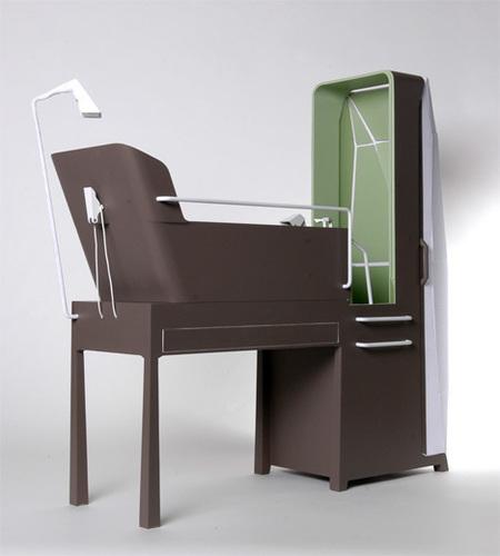 """15个节省空间的卫浴概念设计 让""""小""""不再是问题"""