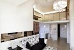 60平米台湾时尚摩登宅 单身贵族的空中楼阁