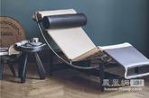 如1928年她与勒.科布西耶CP LC4休闲椅重新改款,具有灵活的摇篮与抛光镀铬钢, 立柱钢彩色玄武岩,头枕与聚酯击球。 创新的垫子独立的采购皮革Louis Vuitton,音响被固定于底座镀铬弹簧张力下,先后边缘切割皮革住了宝贵和对比缝线。 限量版的CP LC4,就是与路易威登的合作。