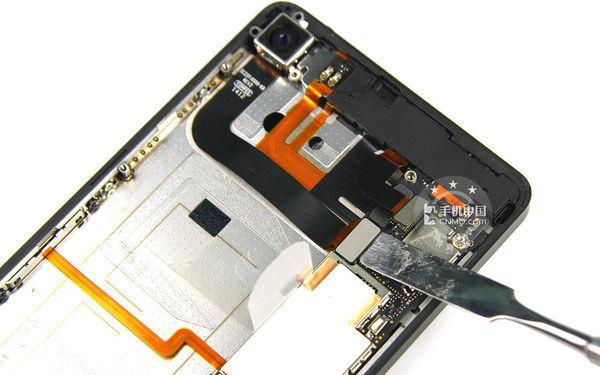 锤子手机电路板零件详解图