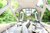 2017年春季投入运营的新型旅游豪华列车设计图。