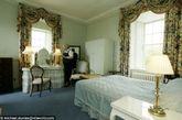 租用期间,客人能坐上王太后坐过的椅子,品尝她生前吃过的菜肴,唯一不能逗留的就是王太后的卧房。图为梅伊堡内景。