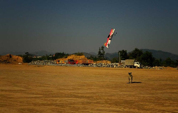 广西河池机场劈山而建 试飞成功等待正式通航