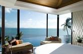 中性风格和深色木地板营造出淡淡的现代风格,如果在房间里增加蓝色海洋枕头,简洁的水平线条可以打造出犹如海平面水天一色般的优雅景象。(实习编辑:温存)