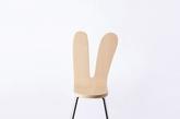 """妹岛和世与西泽立卫为Nextmaruni设计的""""兔耳""""椅(实习编辑:石君兰)"""