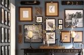 装饰相框:为了衬托奢华的装修风格,必须搭配沉稳精致的装饰品,简约的相框就最适合不过。摆放与家人朋友的合照或旅行风景照,使高贵的空间不失人情味。