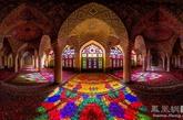 伊朗nasir al-mulk清真寺全景(实习编辑:温存)