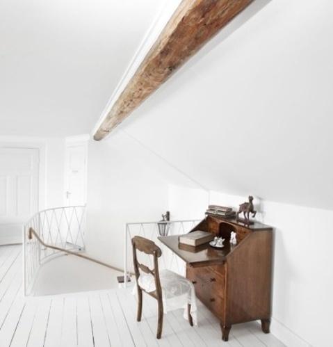 舒适粉刷地板搭出温馨美家 复古小清新的最爱