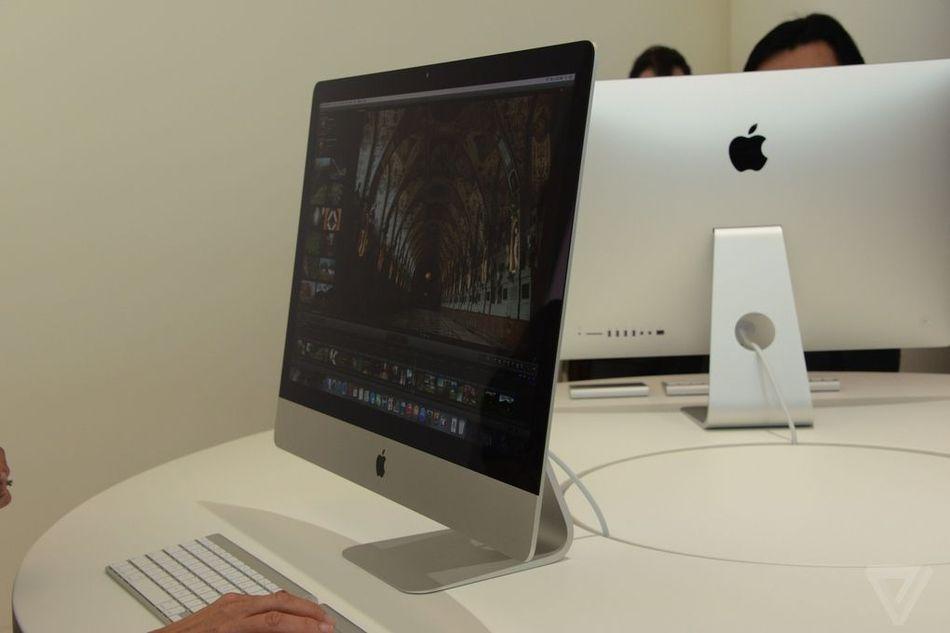 苹果27寸5K超高分辨率屏幕iMac高清图赏