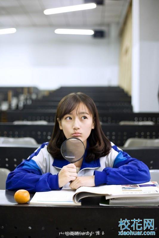 最美校服女生 辽阳县一高中校花高晴