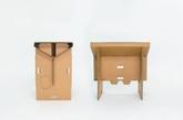 可灵活快速的折叠组装、轻巧(仅重6.5公斤)携带方便、价格实惠和100%可回收,来自新西兰的Fraser Callaway,Oliver Ward和Matt Innes团队打造了这款名为「Refold」的纸板折叠桌。采用七毫米厚的牛皮纸板制作,「Refold」由四个主件共同组成,平板式的包装可以直接手提携带,而使得时则无需胶带或胶水就可以在一两分钟内超速组装,组装后可承起一个成人的重量,而长时间使用后,桌面还可以单独更换,以保持桌面清洁。(实习编辑:江冬妮)