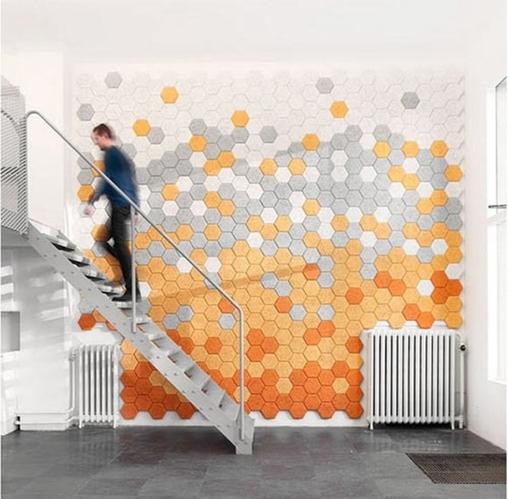 创意无限的10个墙面设计 美得淋漓尽致