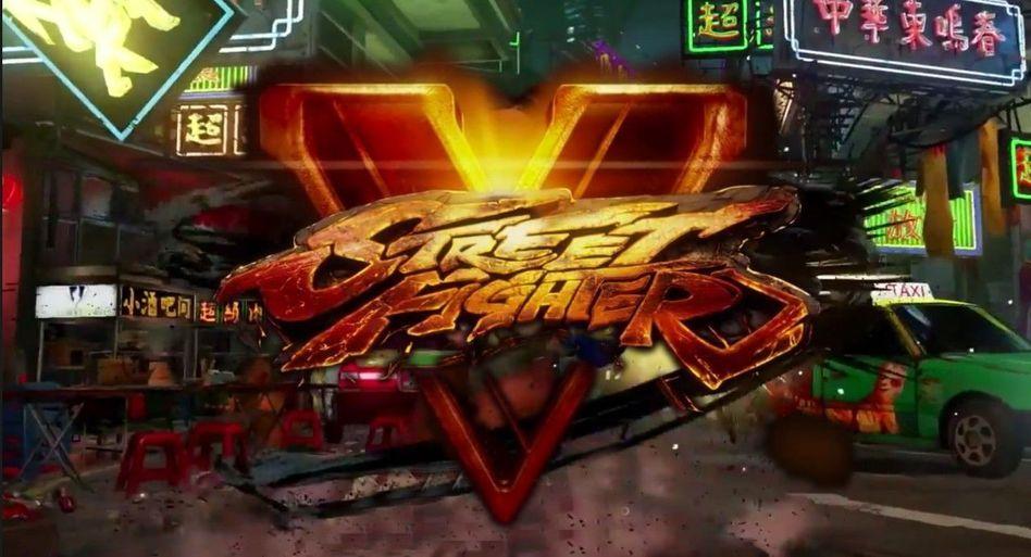 《街头霸王5》最新cg截图