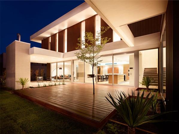 加州现代主义山水宁静致远的别墅别墅章丘风格图片