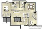 骏地设计:投资银行样板房的空间最大化利用